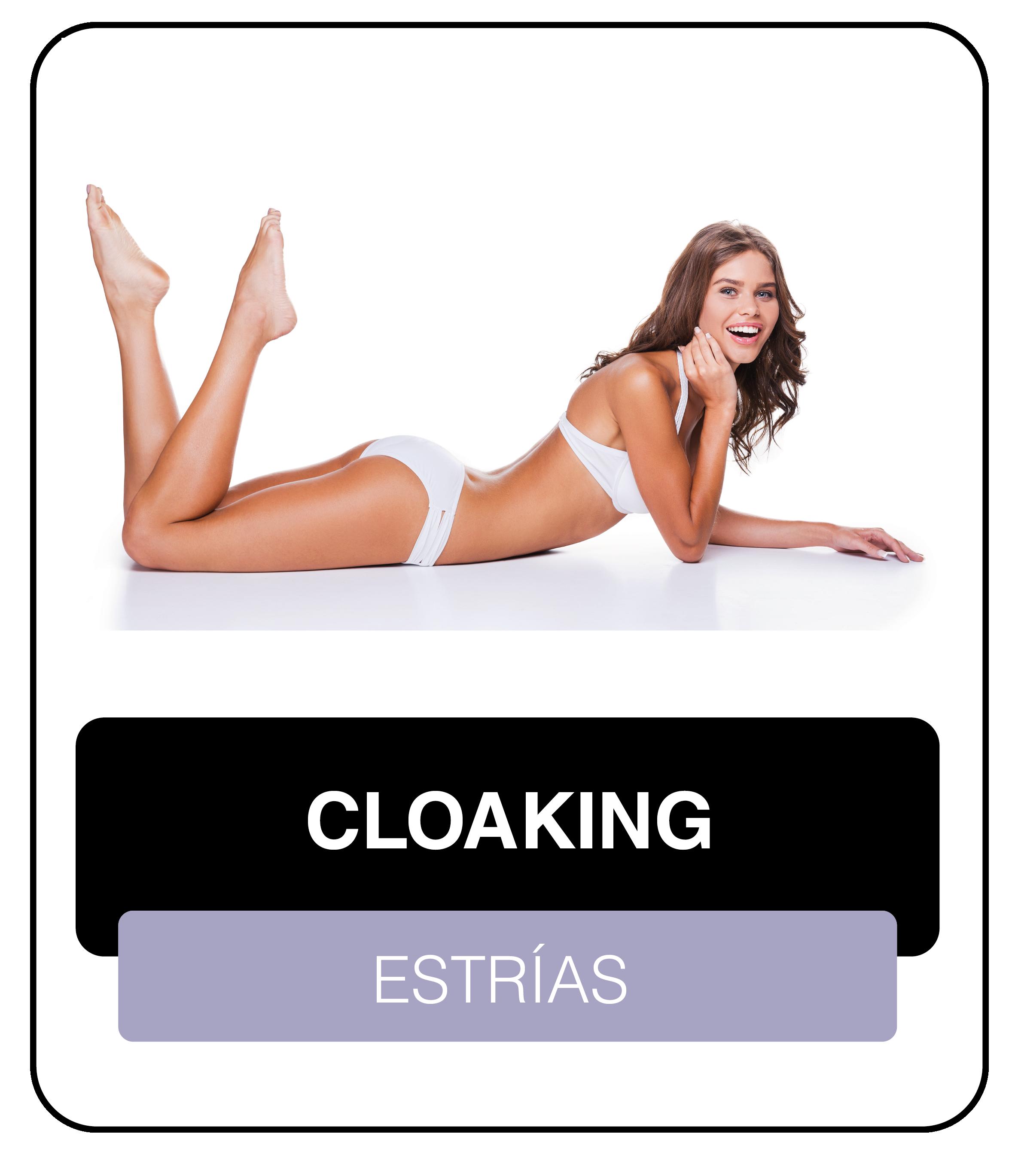 Cloaking para estrías